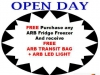ARB Hobart Open Day Fridge Promotion
