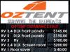 OZ Tent Sale