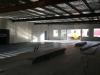 Floorspace of the new showroom