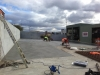 Concreting fitting bays