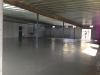 Concrete floor in new King Trailers showroom