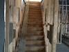 Internal stairs between showrooms